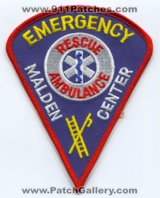 Malden Center Emergency Rescue Ambulance (Massachusetts)