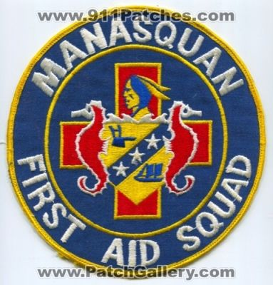 Manasquan First Aid Squad Patch (New Jersey)