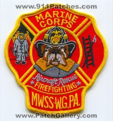 marine corps aircraft rescue firefighting mwss willow grove usmc military pennsylvania