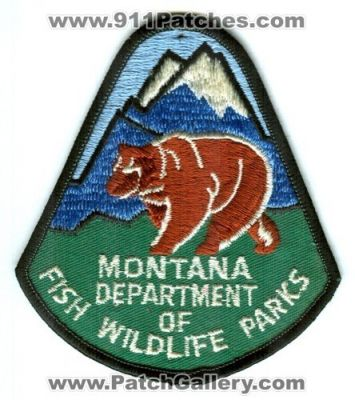 Montana montana fish wildlife parks enforcement for Mt fish wildlife and parks