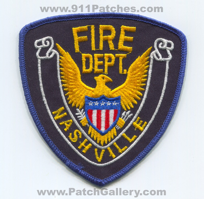 Nashville Fire Department Patch (UNKNOWN STATE) Illinois?