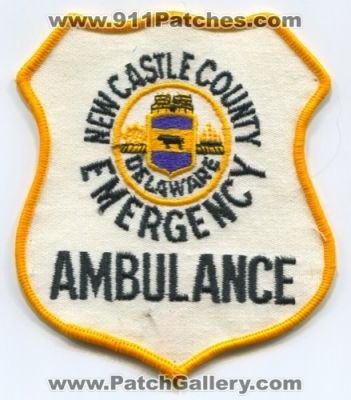 New Castle County Emergency Ambulance EMS Patch (Delaware)