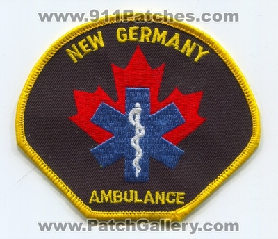Canada - New Germany Ambulance EMS Patch (Canada NS