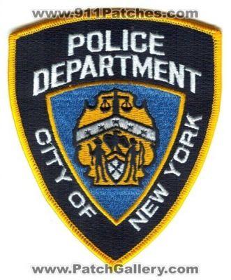 NEW YORK CITY POLICE DEPARTMENT USS THEODORE ROOSEVELT