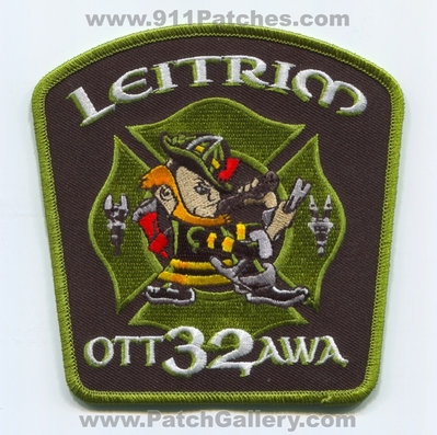 Ottawa Fire Department Station 32 Patch (Canada ON)
