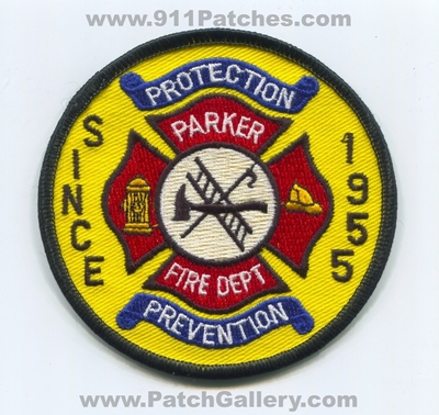 Florida - Parker Fire Department Patch (Florida