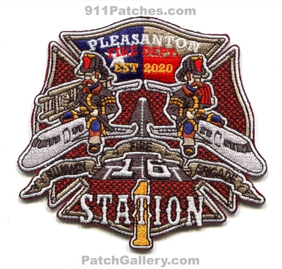Pleasanton Fire Department Station 1 Patch (Texas)