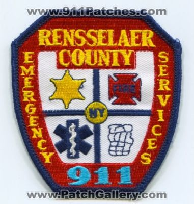 New York - Rensselaer County Emergency Services 911 (New
