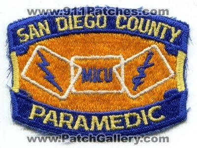 California - San Diego County Paramedic MICU (California