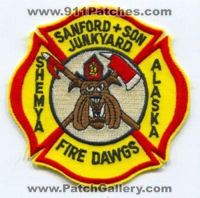 Alaska - Shemya Air Force Base AFB Fire Department USAF Military
