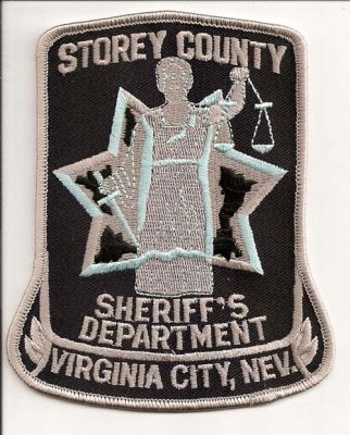 Nevada - Storey County Sheriff's Department - PatchGallery com