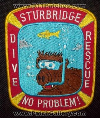 STURBRIDGE MASSACHUSETTS POLICE PATCH