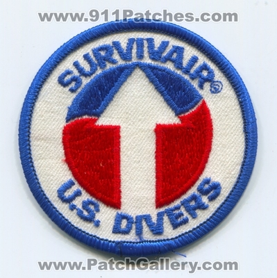 Survivair US Divers SCUBA Patch (California)