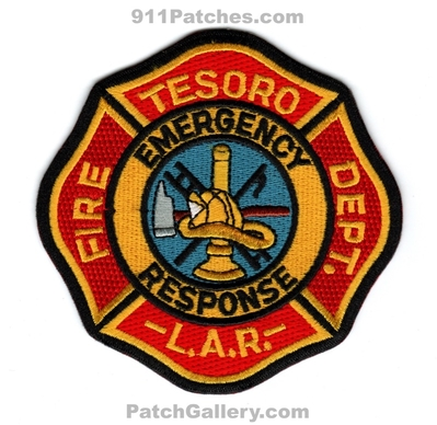 Tesoro Los Angeles Refinery Fire Department Emergency Response Patch (California)