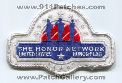 The United States Honor Flag Patch (Texas)