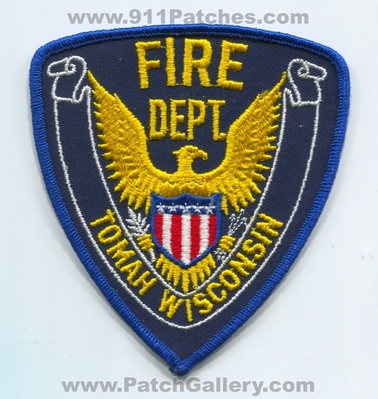 Tomah Fire Department Patch (Wisconsin)