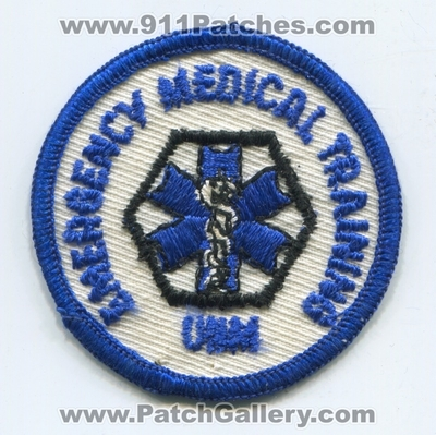 University of New Mexico UNM Emergency Medical Training Patch (New Mexico)