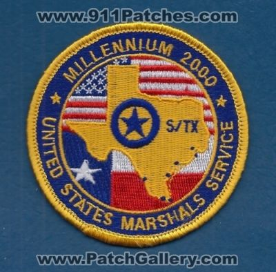 Texas - United States Marshals Service USMS Millennium 2000