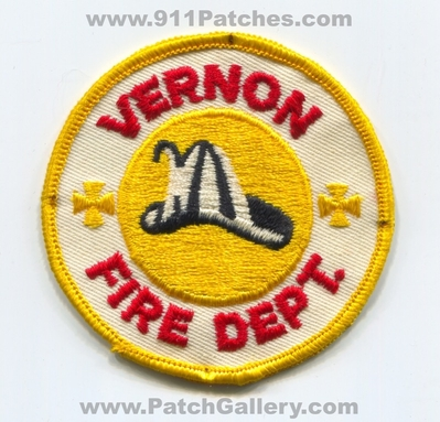 Vernon Fire Department Patch (UNKNOWN STATE)