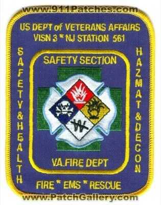 New Jersey Veterans Affairs Fire Department Station 561 Visn 3