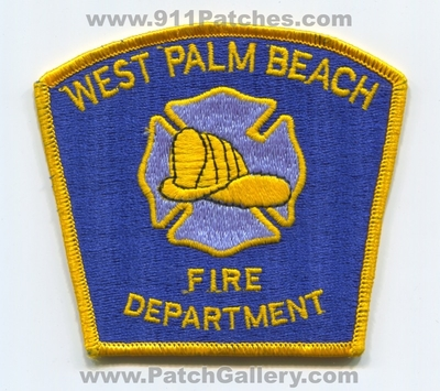 West Palm Beach Fire Department Patch (Florida)