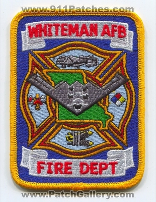 Missouri - Whiteman Air Force Base AFB Fire Department USAF Military