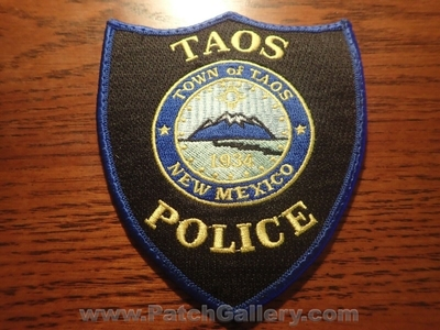 Taos Police Department Patch (New Mexico)