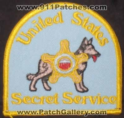 United States Secret Service K-9 (No State Affiliation)