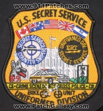 United States Secret Service Uniformed Division (No State Affiliation)