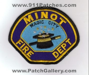 Minot Fire Department Patch (North Dakota)