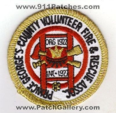 Maryland - Prince George's County Volunteer Fire & Rescue Assoc