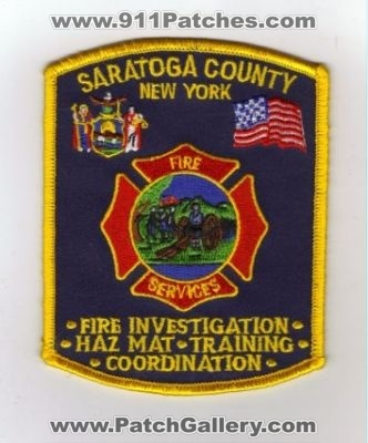 New York - Saratoga County Fire Services (New York