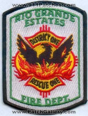 New Mexico Rio Grande Estates Fire Department District