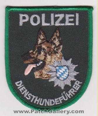 Germany - Police Service Dog (Germany) - PatchGallery com