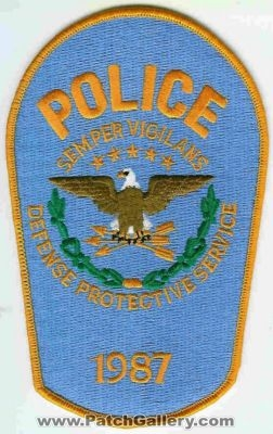 Department of Defense DOD Defense Protective Service Police Department