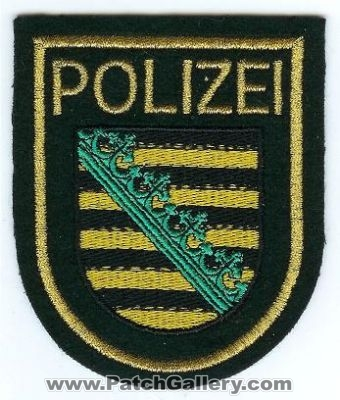 Sachsen State Police (Germany)