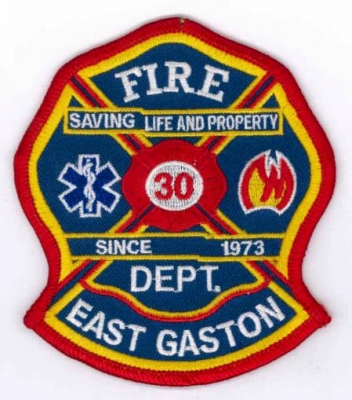 Gaston County - East Gaston Fire Department - PatchGallery