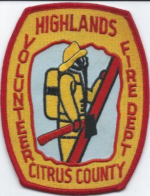 Fire Patches - highlands VFD - citrus county ( FL